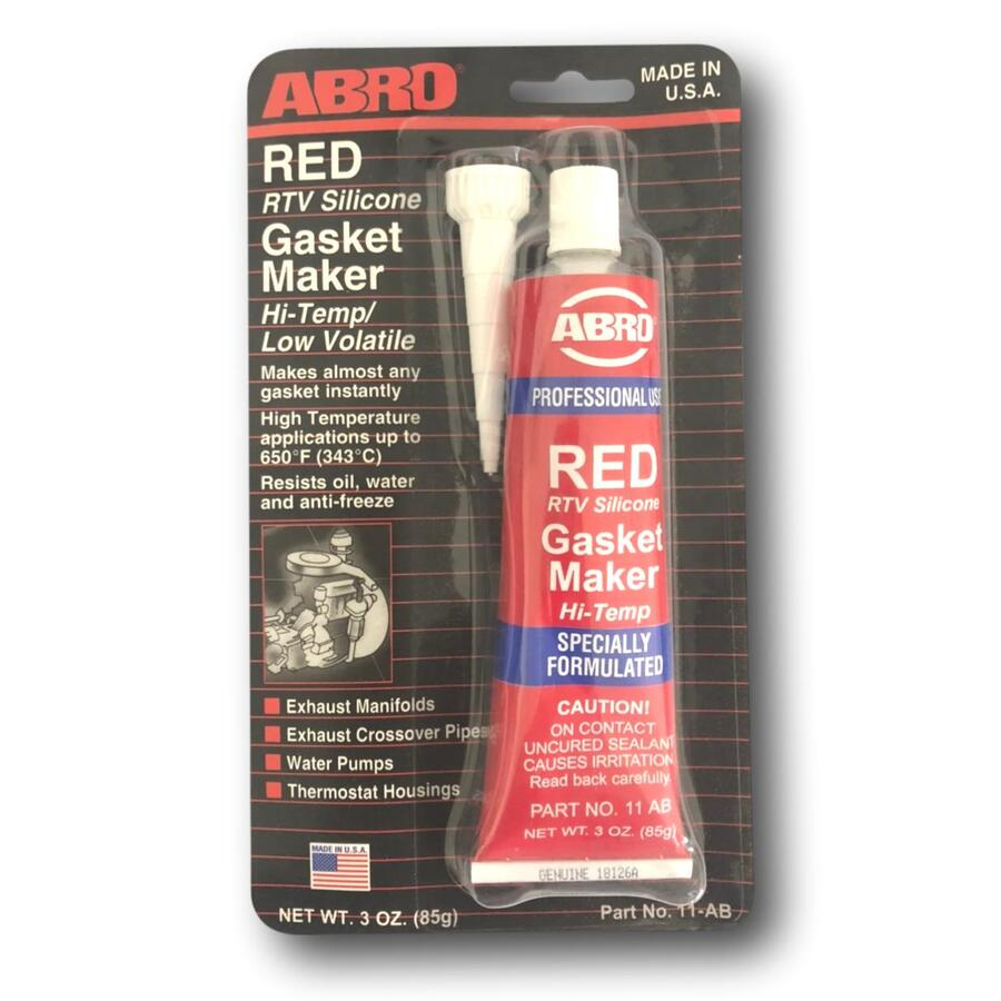 EXHAUST SEALANT RED RTV SILICONE - HIGH TEMP & LOW VOLATILE