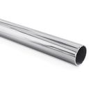 EXHAUST MIRROR PIPE STRAIGHT TUBE STAINLESS STEEL (316) 2""